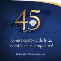 UEFS 45 Anos