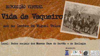 Museus da Uefs celebram o Dia do Vaqueiro Nordestino com exposição virtual