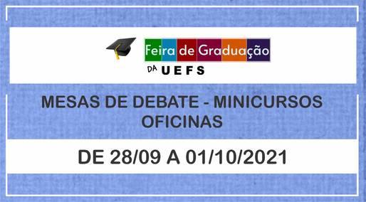 Uefs realiza Feira de Graduação a partir de 28 de setembro
